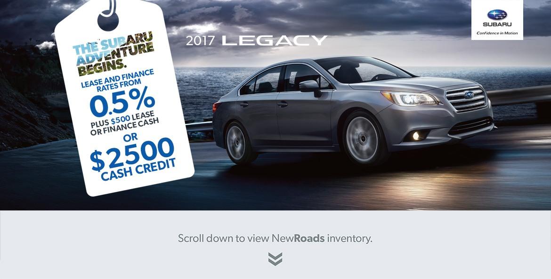 Subaru Legacy Special