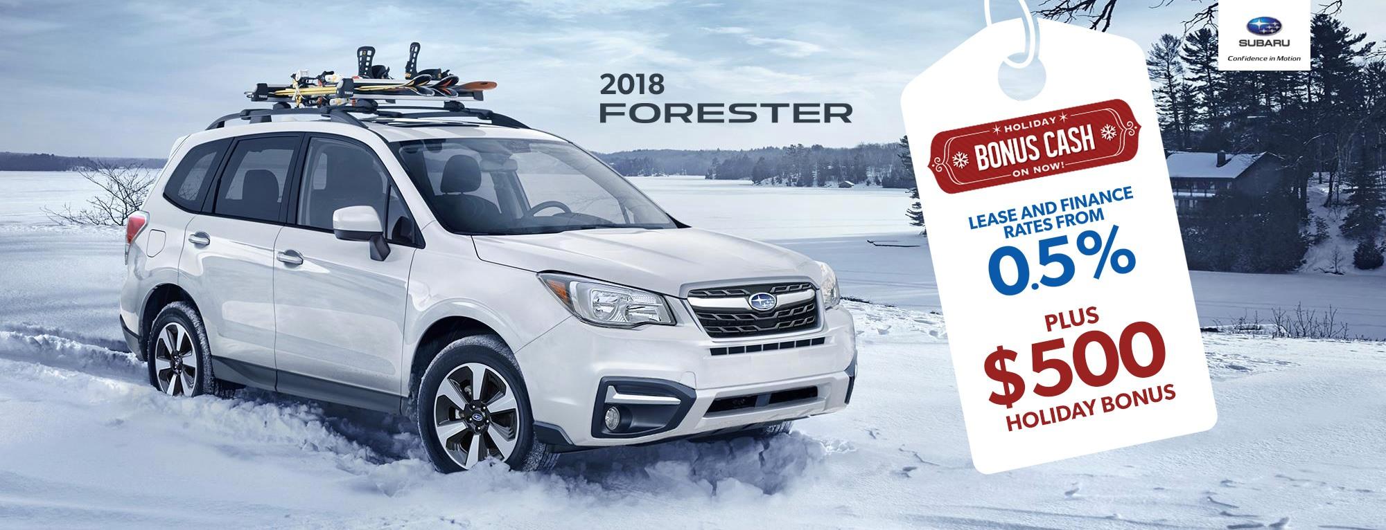 2018 Subaru Forester Special