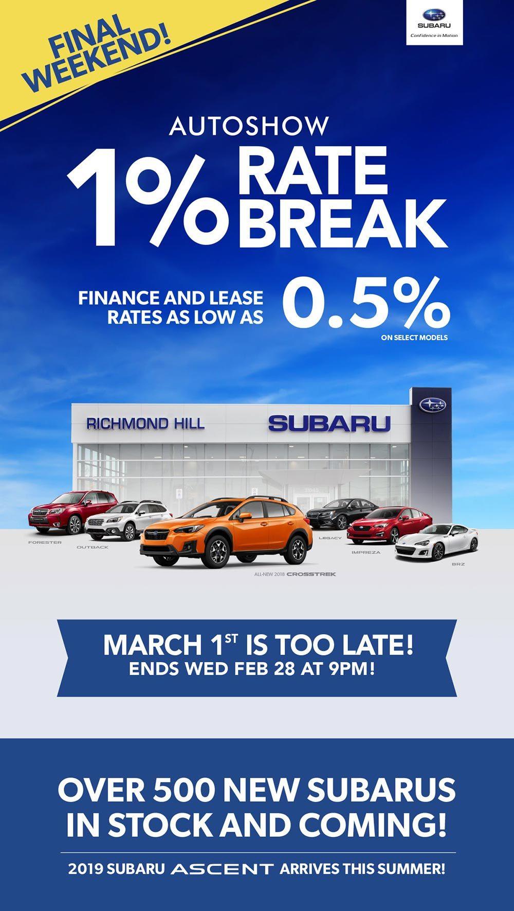Subaru Autoshow Special