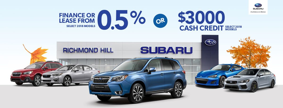 Subaru Dealership in Maple Ontario