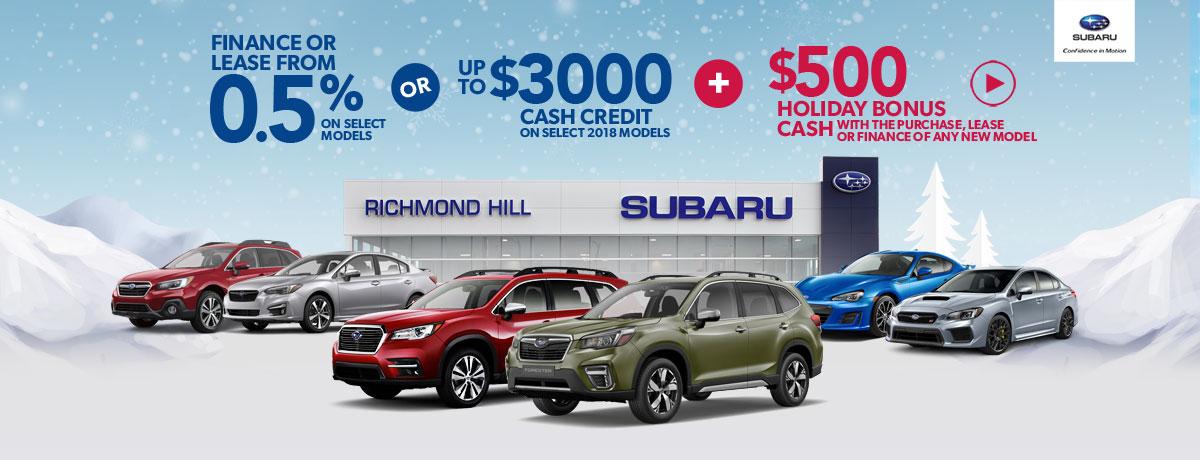 Subaru Holiday Special Richmond Hill