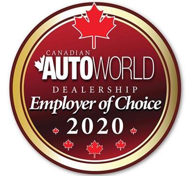 Autoworld Employer of Choice 2020