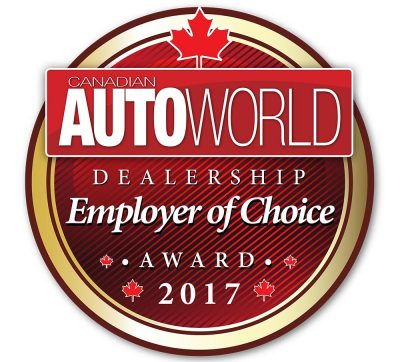 Autoworld Employer of Choice 2017