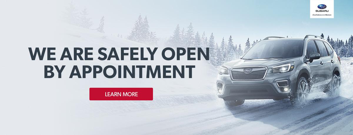 Subaru dealer open