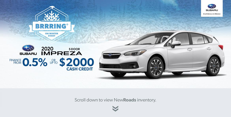 Subaru Impreza in Maple and Richmond Hill