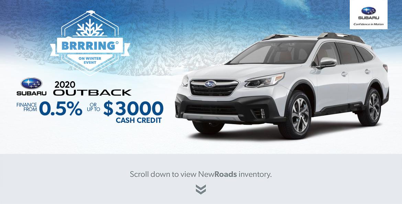 Subaru Outback Specials