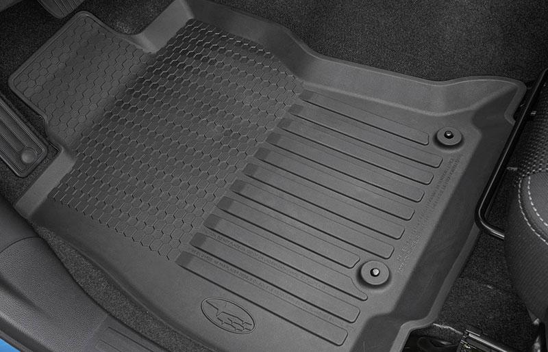 Subaru high wall rubber floor-mats
