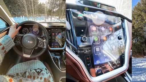 Subaru Outback navigation