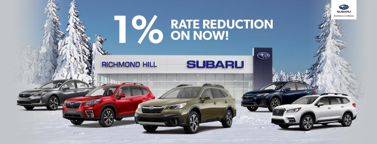 Richmond Hill Subaru Specials