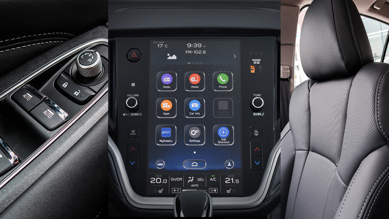 Subaru Legacy infotainment