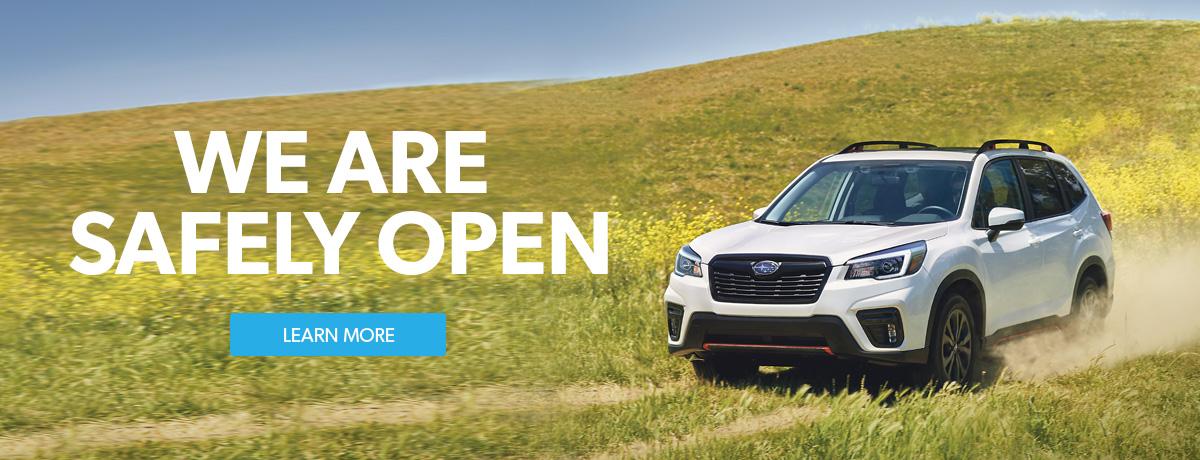 Subaru Dealership Open in Ontario